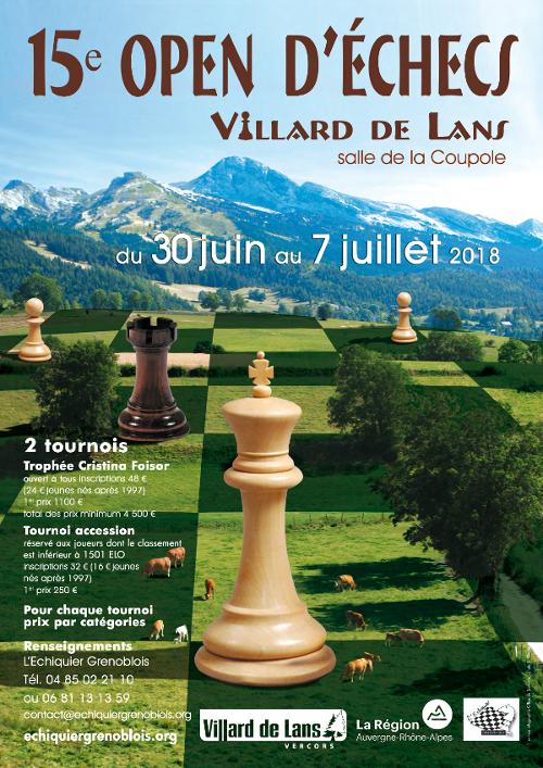 15ᵉ Open de Villard-de-Lans @ Salle de la Coupole