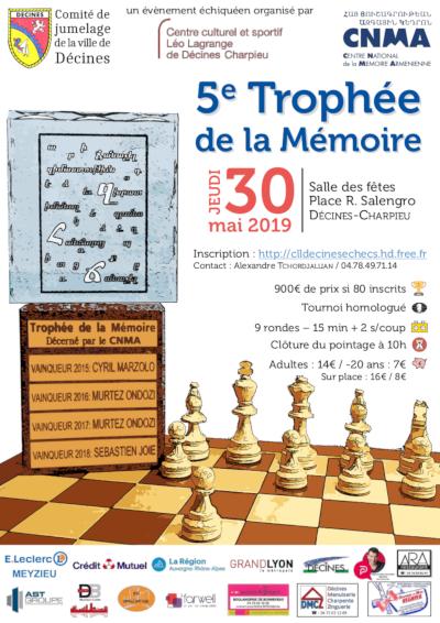 5ᵉ Trophée de la Mémoire @ Salle des Fêtes
