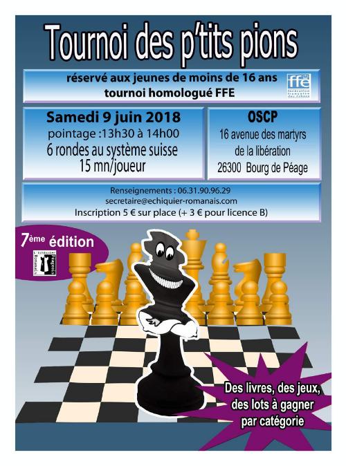 7ᵉ tournoi des p'tits pions @ OSCP