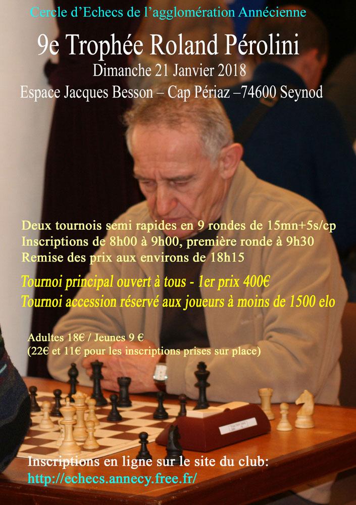 9ᵉ Trophée Roland Pérolini @ Espace Jacques Besson – Salle Cap Périaz