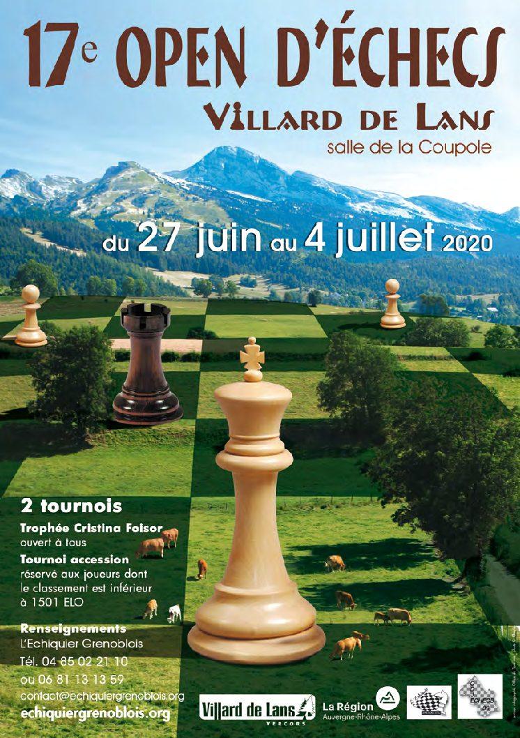 [ANNULÉ] 17ᵉ Open de Villard-de-Lans @ Salle de la Coupole